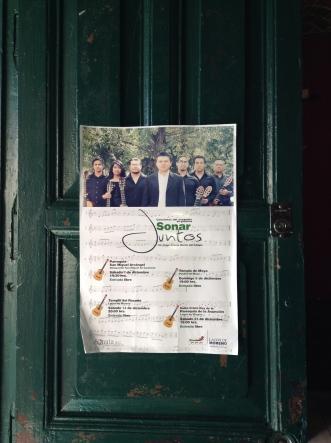 Cartel de la gira regional de Sonar Juntos. (Brecafé)