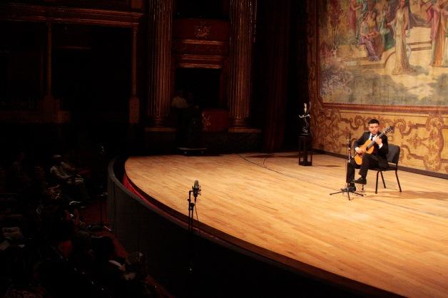 En el Teatro Degollado